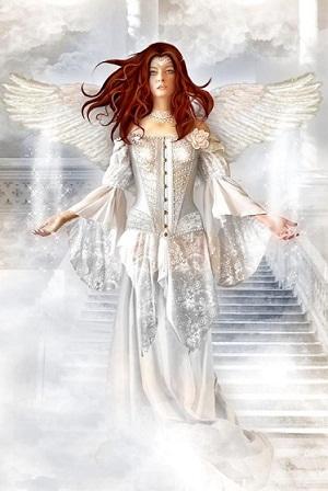 ange blanc rousse
